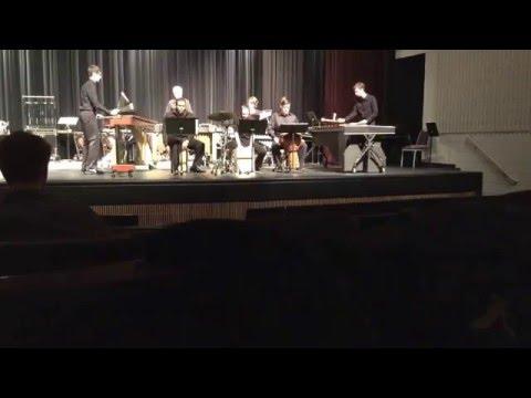 """Catching Shadows""--IWU Percussion Ensemble--4/4/16"