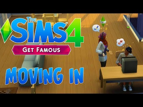 The Sims 4 Get Famous #1 - Moving In  