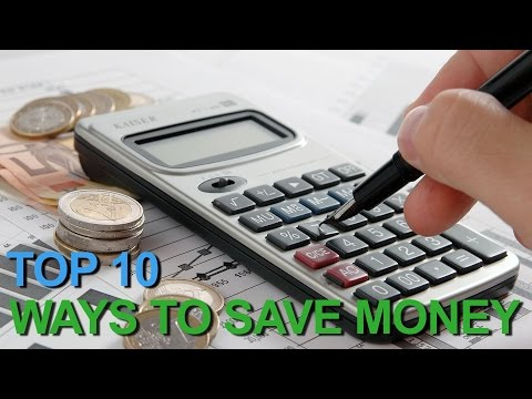 Top 10 Best Ways to Save Money