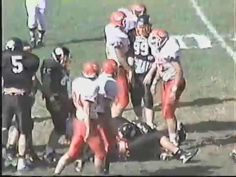 Dana College defeats Doane College, 13-11. 10-19-96