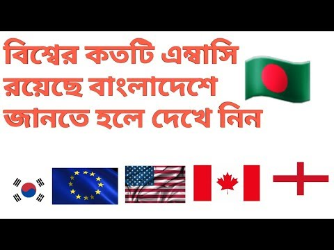 Embassy List In Bangladesh
