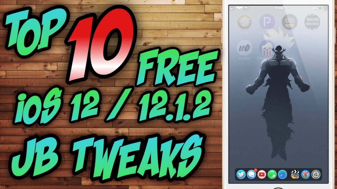 TOP 10 FREE iOS 12 JAILBREAK TWEAKS / TOP 10 FREE JAILBREAK TWEAKS iOS  12 1 2 2019 iPhone,iPod,iPad