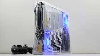 Building a Custom Transparent LED Xbox 360 Slim
