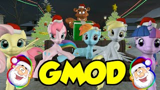 Rainbow Dash And Friends Garry S Mod Christmas Special
