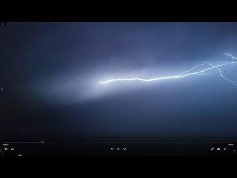 tormenta eléctrica en tacna - peru 2019
