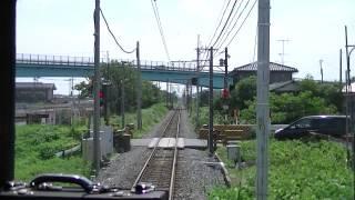 【FHD】秩父鉄道 秩父鉄道線前面展望 羽生→熊谷 5000系