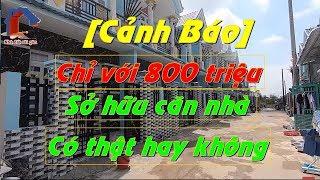 Bán Nhà Bình Chánh - Chỉ Với  800 Triệu Sở Hữu Căn Nhà 5x17m - Sổ Hồng Riêng