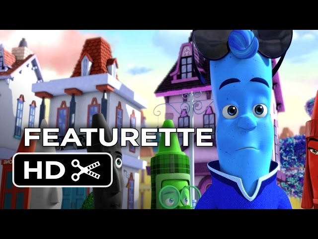 The Hero of Color City Featurette (2014) - Christina Ricci Animated Movie HD