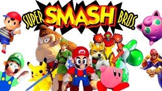 Super Smash Bros. N64 Intro: Toy Version