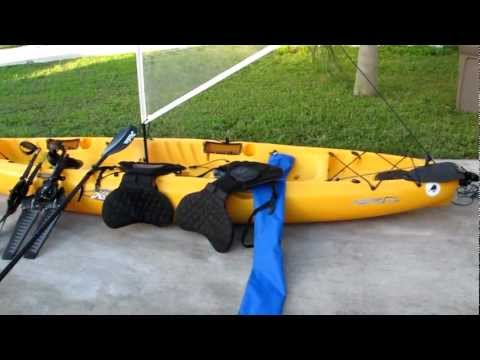 Compare Lsspf Pedal Kayak Drive To Hobie Mirage Pedal D