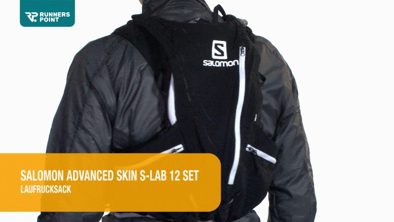 Lab Advanced 12 Skin Salomon Laufrucksack Hydro Set kuPZiXTlwO