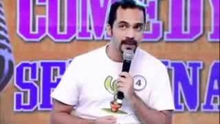 João Basílio stand-up comedy programa Tudo é Possível 18/03/12