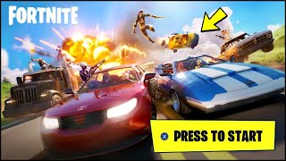 *FIRST* FORTNITE CARS GAMEPLAY / IN-GAME IMAGE & VIDEO TEASER LEAKED (Fortnite Cars Update)