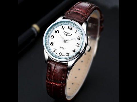 Посылка с Aliexpress. Женские часы Isidore с кожаным ремешком. StarStart.
