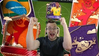 The Greatest Brazil World Cup Pack Opening! FIFA Mobile World Cup Packsanity | Soccer App Lets Play