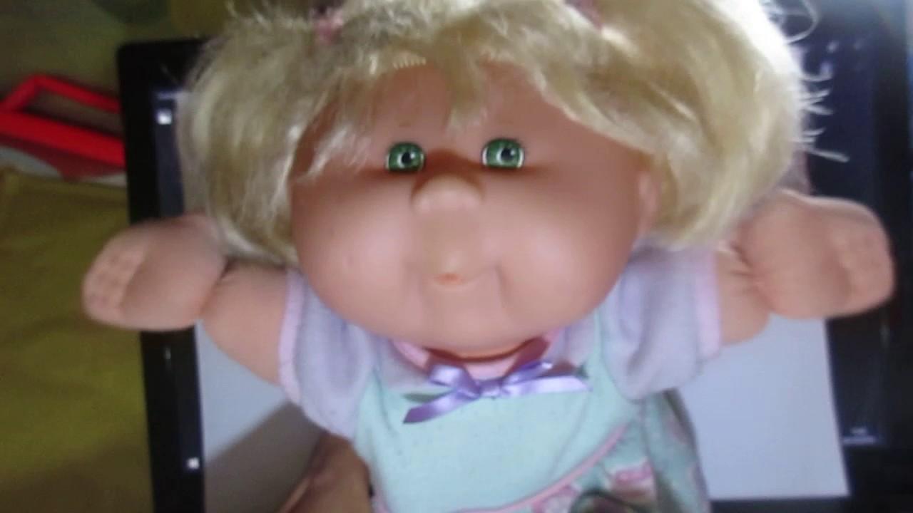 Bambola Cabbage Patch Kids anni 90 I Bimboli Peperini Kid Mattel
