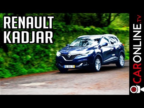 RENAULT KADJAR 2017 - O primo do Nissan Qashqai! [Review Portugal]