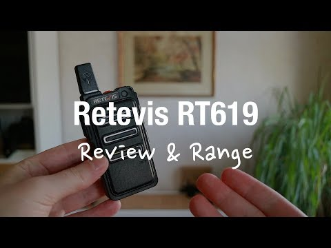 Retevis RT619 Licence Free Walkie Talkies (Review And Range Test)