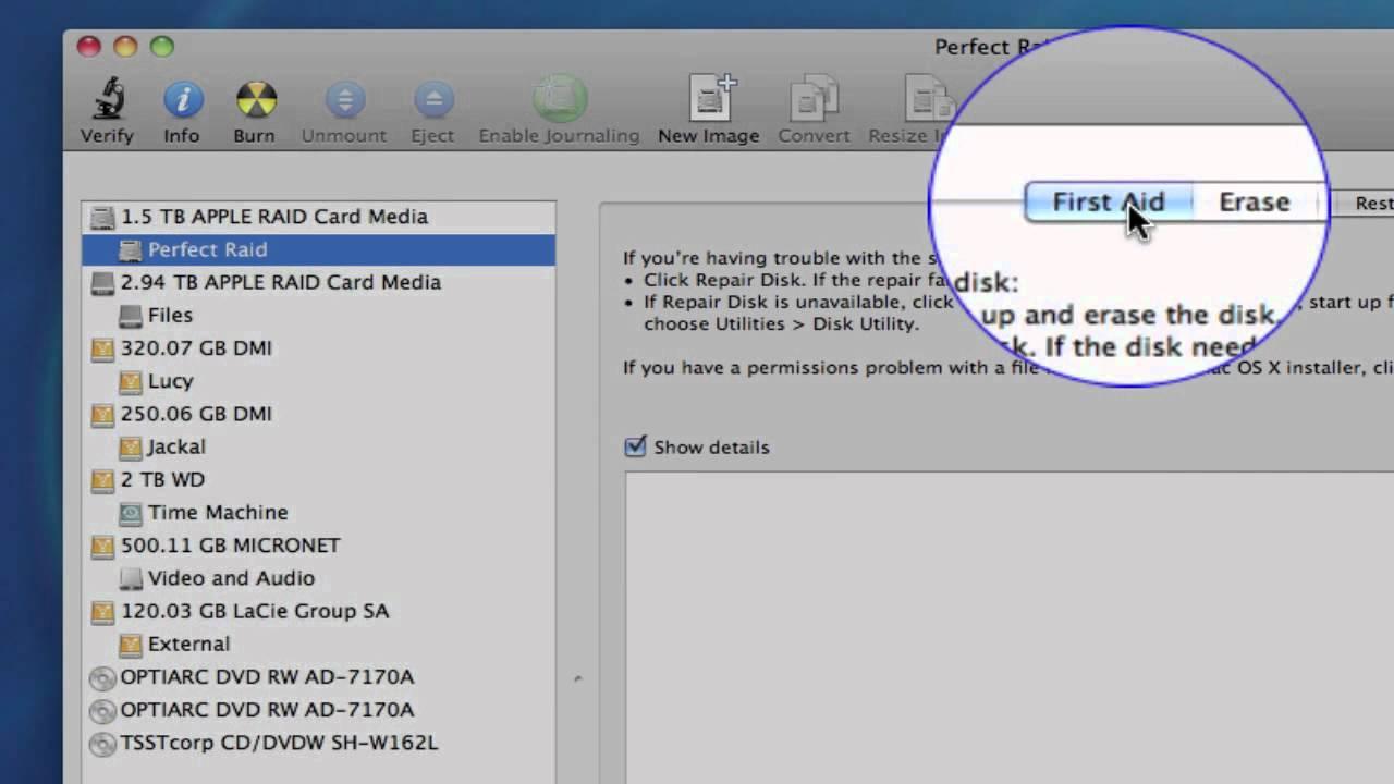 Fix Permission in Mac OS X using Disk Utility