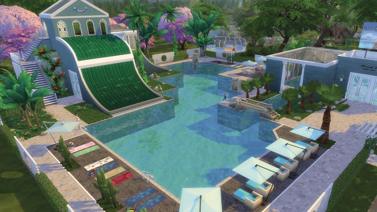 Une piscine | Les Sims 4 construction