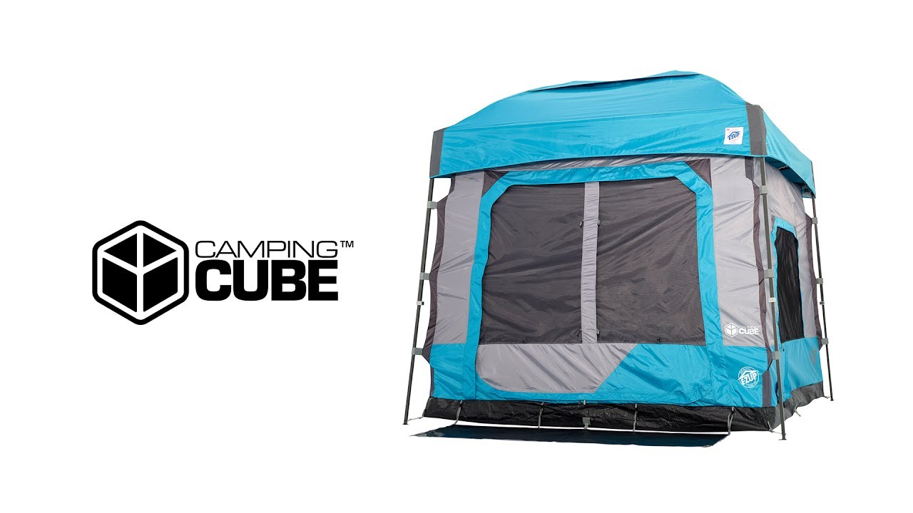 E-Z UP® C&ing Cube™ NEW  sc 1 st  YouTube & E-Z UP® Camping Cube™ NEW - YouTube