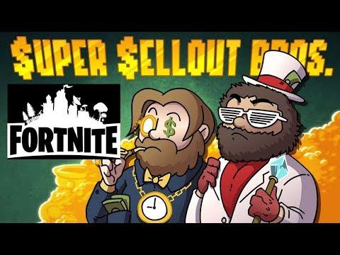 Super Sellout Bros. - Fortnite Preview #1 - Super Beard Bros.