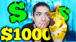 Trying $1000 Ice Cream Sundae! (And $2000 Pizza)