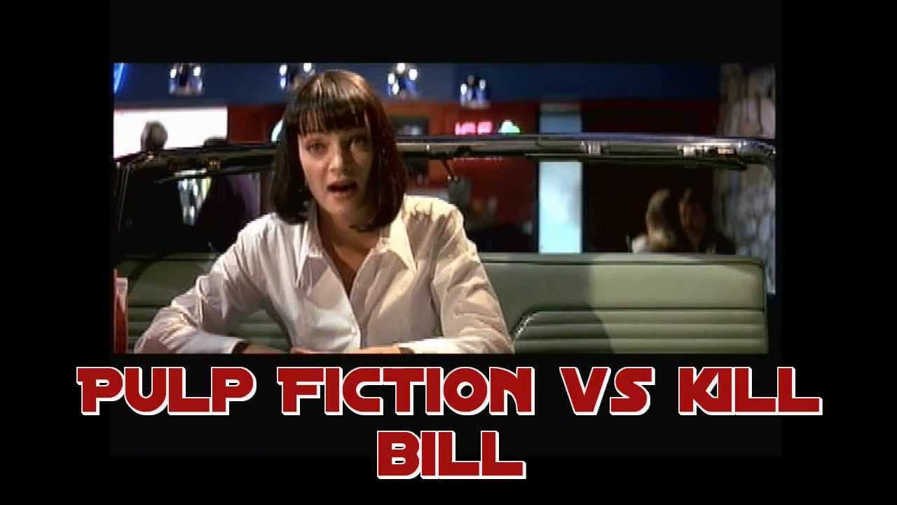 pulp fiction vs kill bill fox force 5 youtube. Black Bedroom Furniture Sets. Home Design Ideas