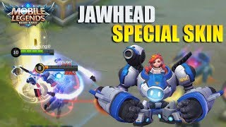 JAWHEAD SPACE EXPLORER SPECIAL MSC SKIN FIRST LOOK + EFFECTS IN GAME - MOBILE LEGENDS