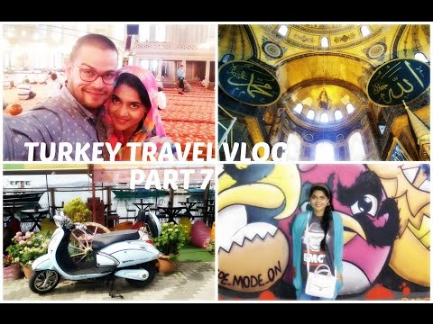 Turkey Travel Vlog Part 7 || Enchanting Istanbul || Clothes and Creativity