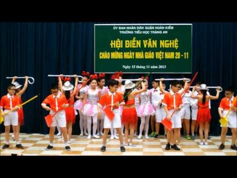 Liên Khúc Our School - tiết mục văn nghệ lớp 5E trường Tràng An bản HD