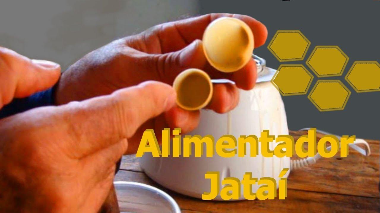 ALIMENTADOR DE CERA- ABELHAS SEM FERRÂO