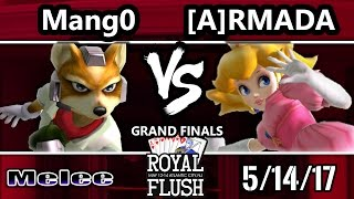 Video Royal Flush SSBM - [A] Armada (Peach) Vs. C9 Mango (Fox, Marth) Smash Melee GF download MP3, 3GP, MP4, WEBM, AVI, FLV Maret 2018