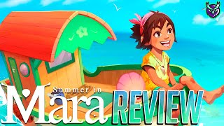 Summer in Mara Switch Review - Island Hopping Life Sim (Video Game Video Review)