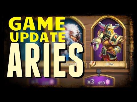 Castle Clash: Aries - Game Update Part 1