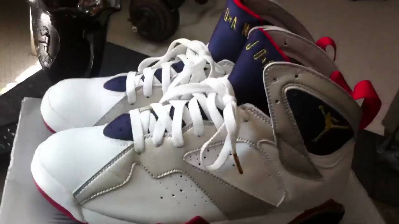 5cf0ef42bbbd29 Air Jordan 2004 Retro Olympic 7 - YouTube