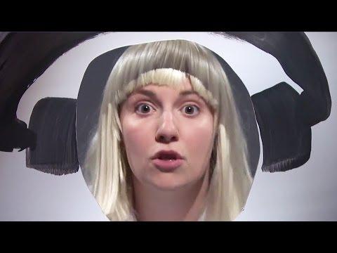 """Lena Dunham Dances To Sia's """"Chandelier"""""""