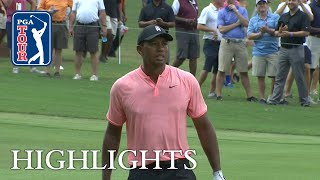 Tiger Woods' Highlights | Round 1 | TOUR Championship 2018
