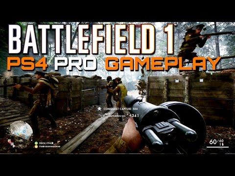 Battlefield 1: 58 Kills - PS4 Pro Multiplayer Gameplay
