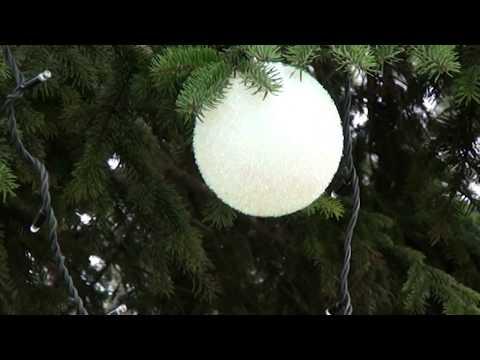 Украшение елки в Апшеронске. 15.12.18