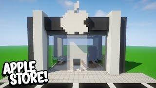 Minecraft: COMO CONSTRUIR UMA LOJA DA APPLE (APPLE STORE)
