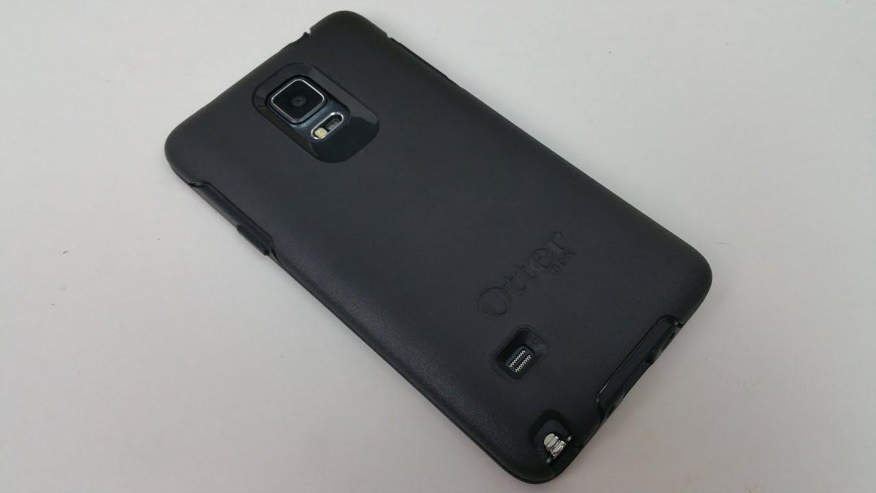 finest selection d7a49 2f49b Galaxy Note 4 - Otterbox Symmetry anbringen