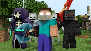 ♪ 'RAIDERS' - MINECRAFT PARODY OF CLOSER BY THE CHAINSMOKERS' ♫ (ANIMATED MUSIC VIDEO) ♫