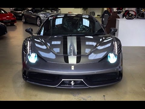 Taking Delivery Of A Ferrari 458 Speciale Youtube