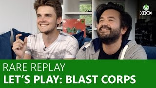 Let's Play Blast Corps - Rare Replay | Xbox On