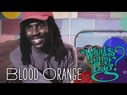 Blood Orange - What's In My Bag?