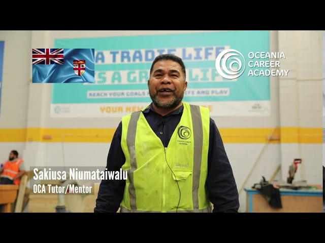 Oceania Career Academy (OCA) Tutor/Mentor, Sakiusa shares a message for Fiji Language Week 2020