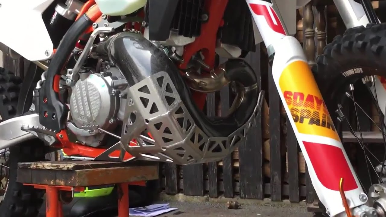 Ktm Pipe Protector