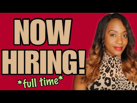 NEW Work From Home Job! ~ 10-11-19