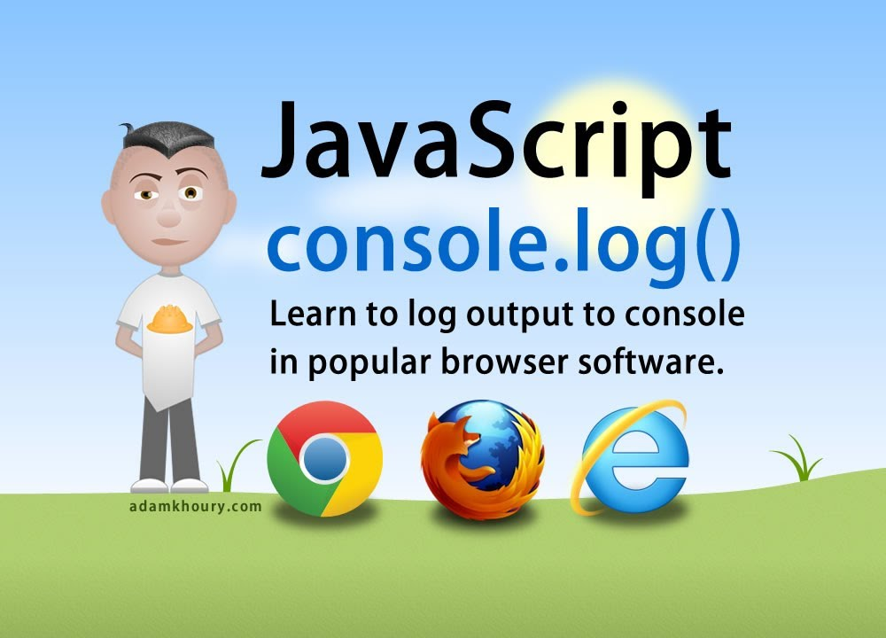 JavaScript Console Log Tutorial Chrome Firefox IE Browsers